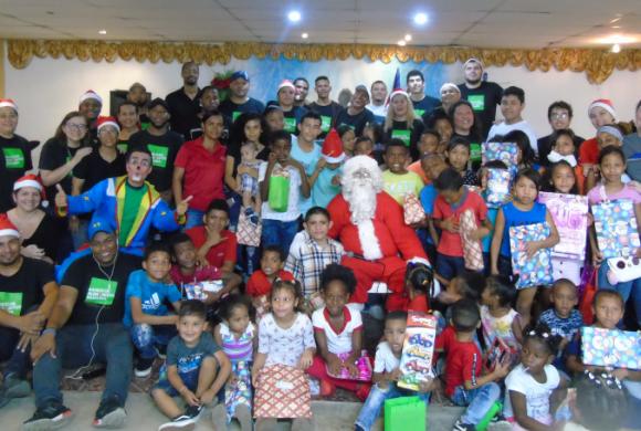 Fundación Banco de Alimentos celebró el fin de año con niños de sus organizaciones beneficiarias