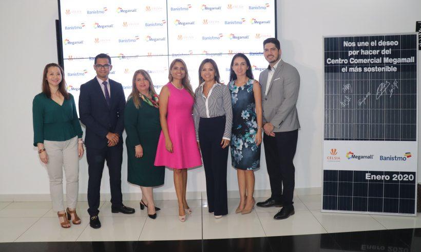Con el respaldo de Banistmo, Celsia instalará techo solar en Megamall