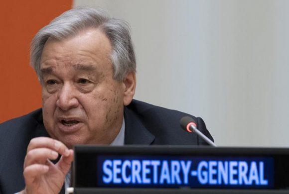 Un llamamiento especial del Pacto Global de las Naciones Unidas