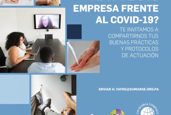 ¿Qué medidas ha adoptado tu empresa frente al COVID-19?