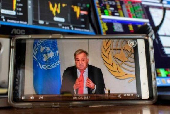 El Secretario General de las Naciones Unidas lanza un plan para abordar impactos socioeconómicos potencialmente devastadores de COVID-19