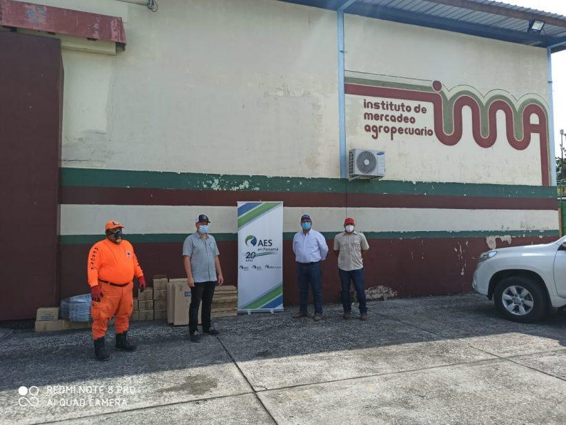 Alimentos para las familias vulnerables de Colón y Chiriquí