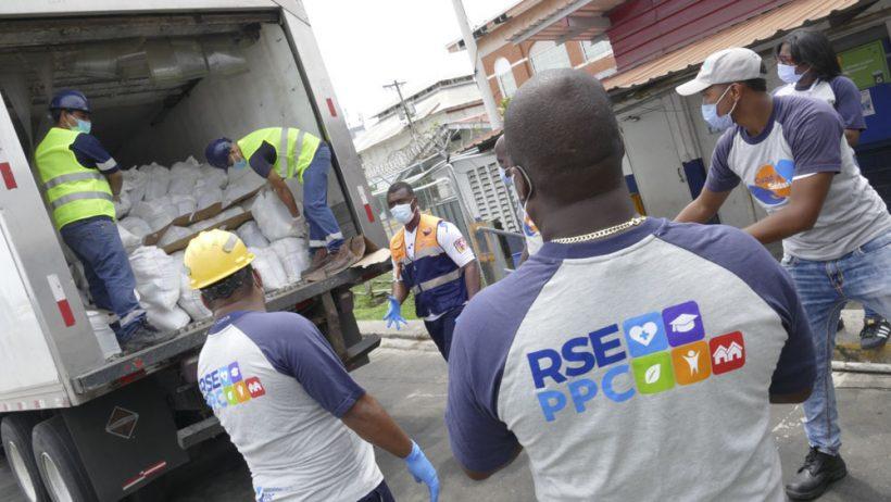 Hutchison Ports PPC, entrega mil bolsas con comida, para beneficiar a familias afectadas por la situación económica producida por el COVID-19