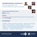 Programa Continuidad de Negocio y Sostenibilidad: Construyendo una comunidad de aprendizaje