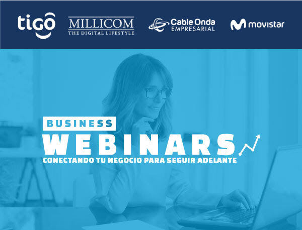 Business Webinar academia virtual de Cable Onda y Movistar capacitan a mujeres emprendedoras