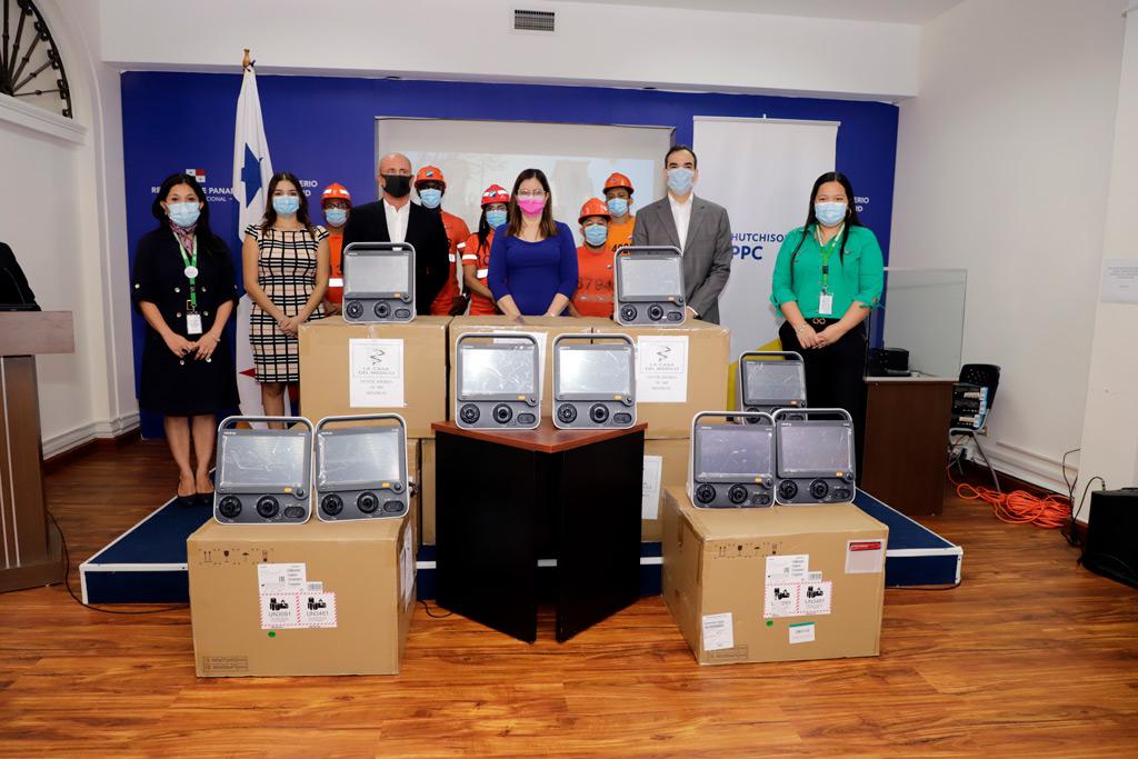 Panama Ports dona equipos médicos vitales para apoyar al sistema de salud panameño