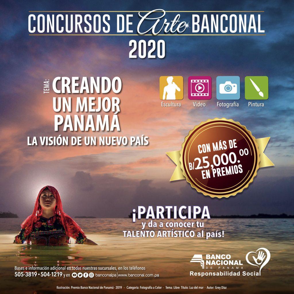 Banconal lanza sus Concursos de Arte 2020