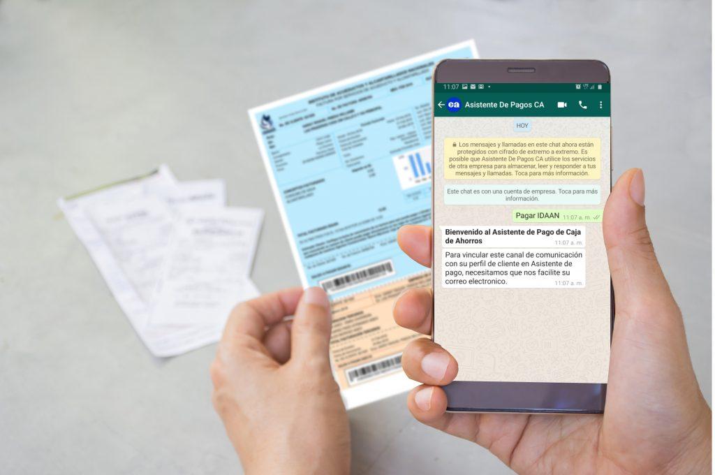 Caja de Ahorros presenta asistente para pagos mediante WhatsApp