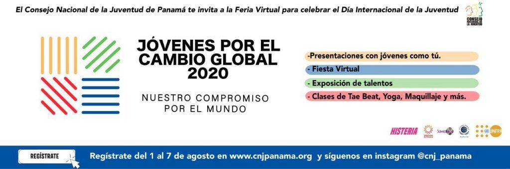 Feria Virtual de Jóvenes por el Cambio Global