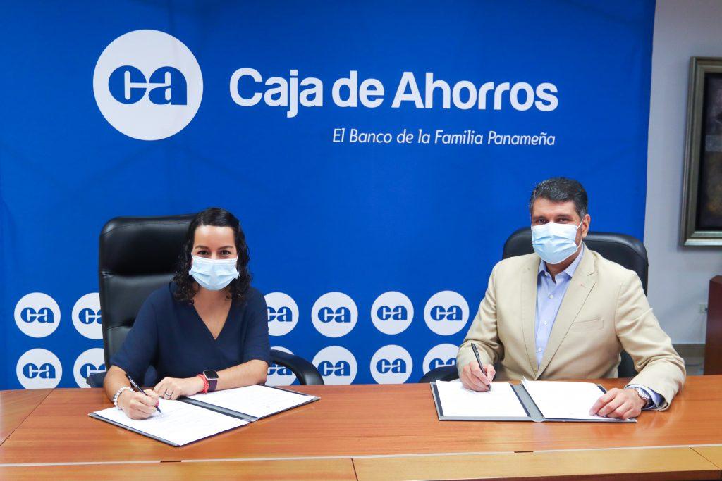 Caja de Ahorros firma convenio con la Fundación Relaciones Sanas