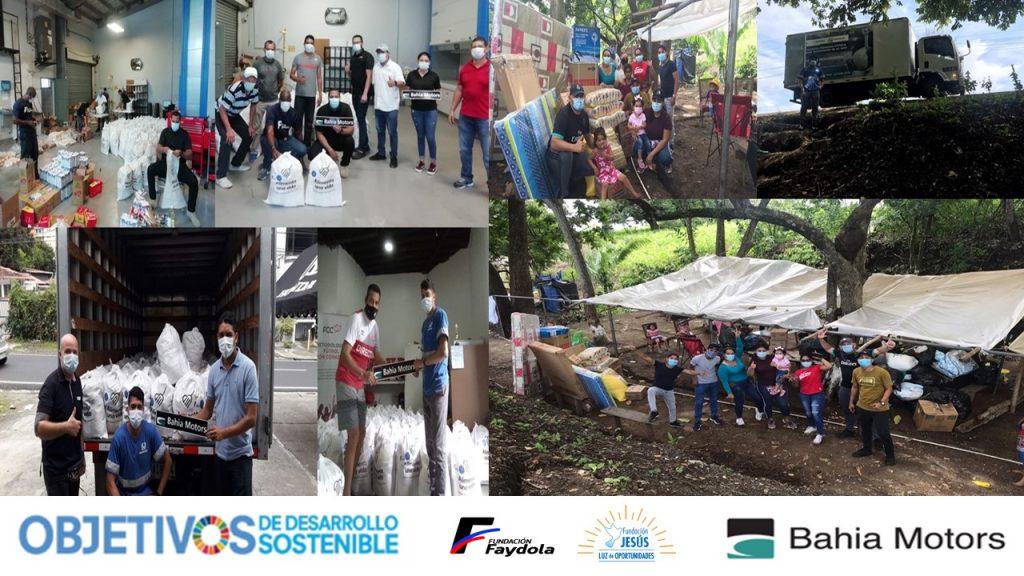 Bahia Motors celebró el Mes de los ODS con alianzas para acciones solidarias
