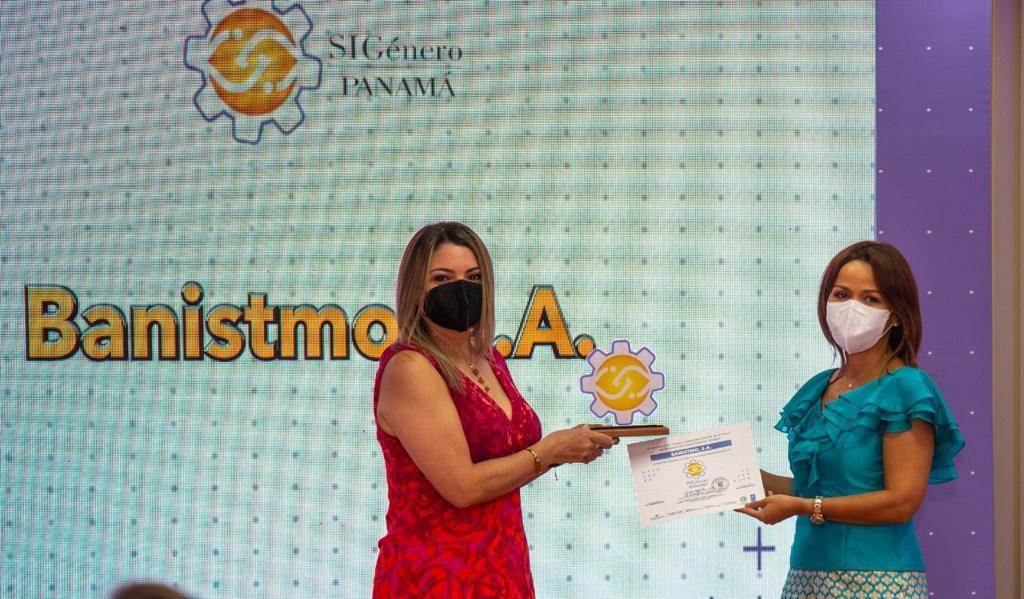 Banistmo recibe Sello de Igualdad de Género en nivel Oro