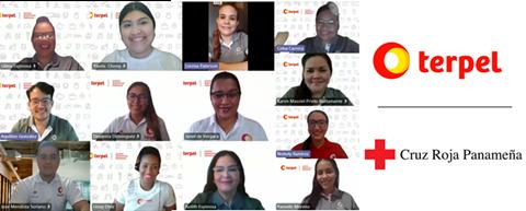 Voluntariado Virtual Terpel ConectaT: soluciones emocionales para los adultos mayores de la Cruz Roja Panameña