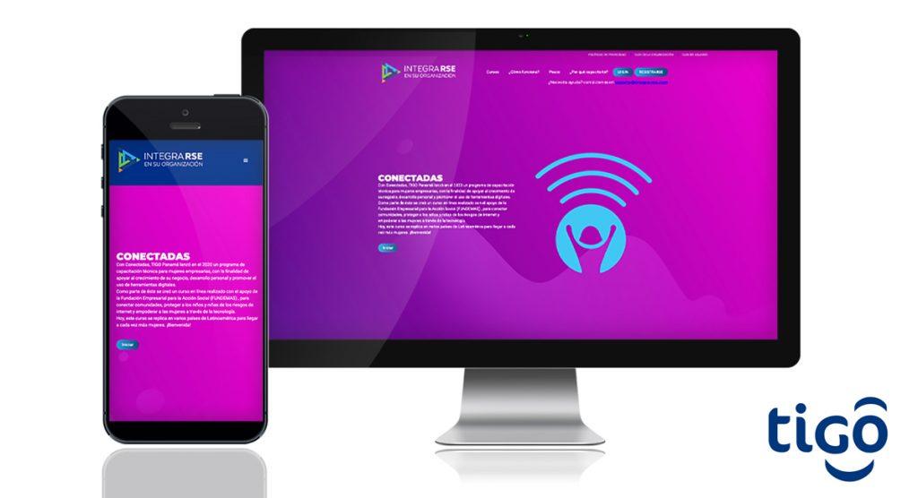 TIGO Panamá lanzó portal digital CONECTADAS para mujeres emprendedoras