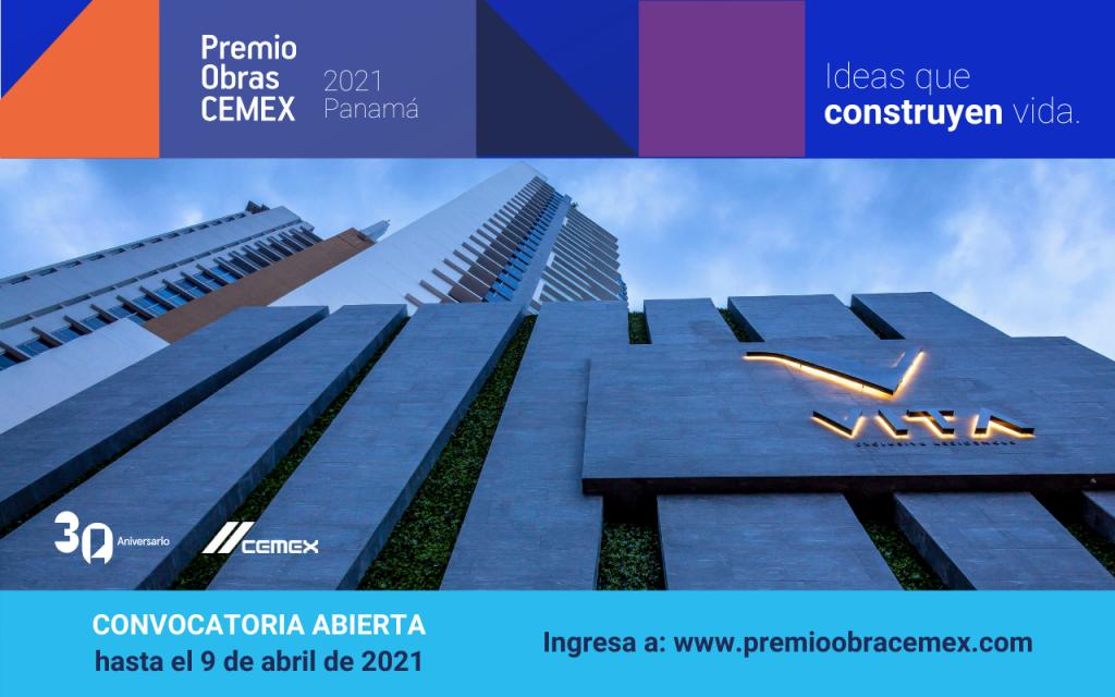 Inicia convocatoria para Premio Obras CEMEX 2021