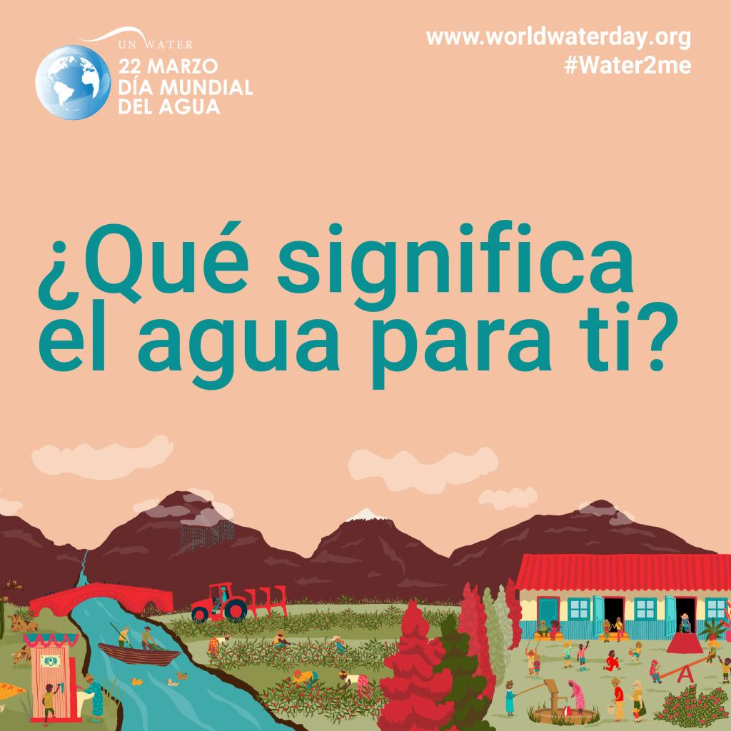 PANAGUA: el agua no tiene sustitutos o alternativas