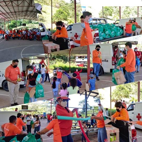 Fundación CWP entrega donativo a la Cruz Roja Panameña para damnificados en Chiriquí