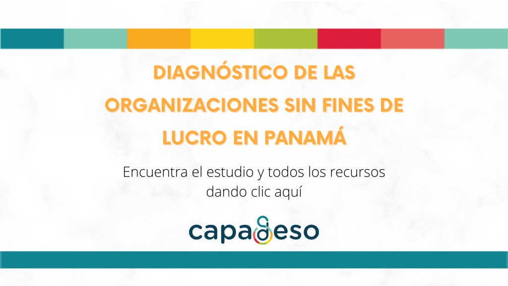 """Cámara Panameña de Desarrollo Social presenta los resultados de su estudio """"Diagnóstico de las Organizaciones sin Fines de Lucro en Panamá"""""""