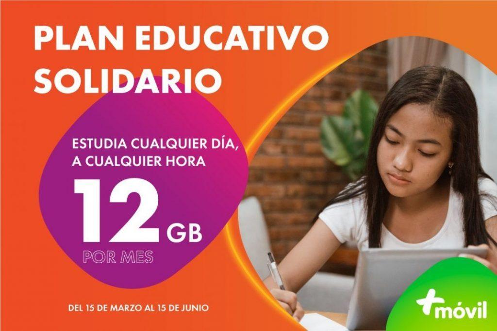 +Móvil refuerza su compromiso por la educación