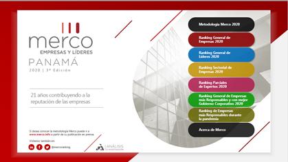 Presentan ranking de reputación corporativa y RSE en Panamá