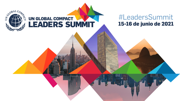 Líderes empresariales y empresas reunidas en la Cumbre de líderes del Pacto Global de las Naciones Unidas