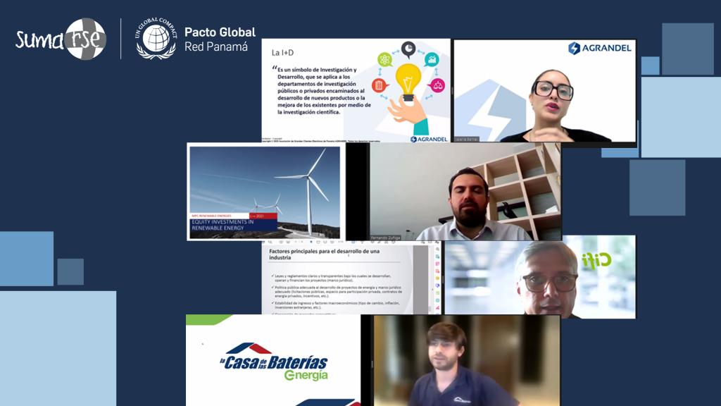 """Finalizamos jornada de zoominars """"ODS 7: El presente y futuro de la energía sostenible"""""""
