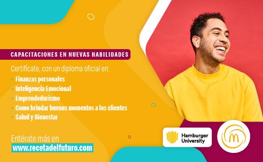 Arcos Dorados abre su universidad corporativa a todos los jóvenes de América Latina y ofrece capacitaciones gratuitas en habilidades que contribuyen con su futuro