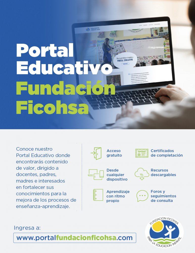 Fundación Ficohsa lanza Portal Educativo para docentes, padres y madres de familia