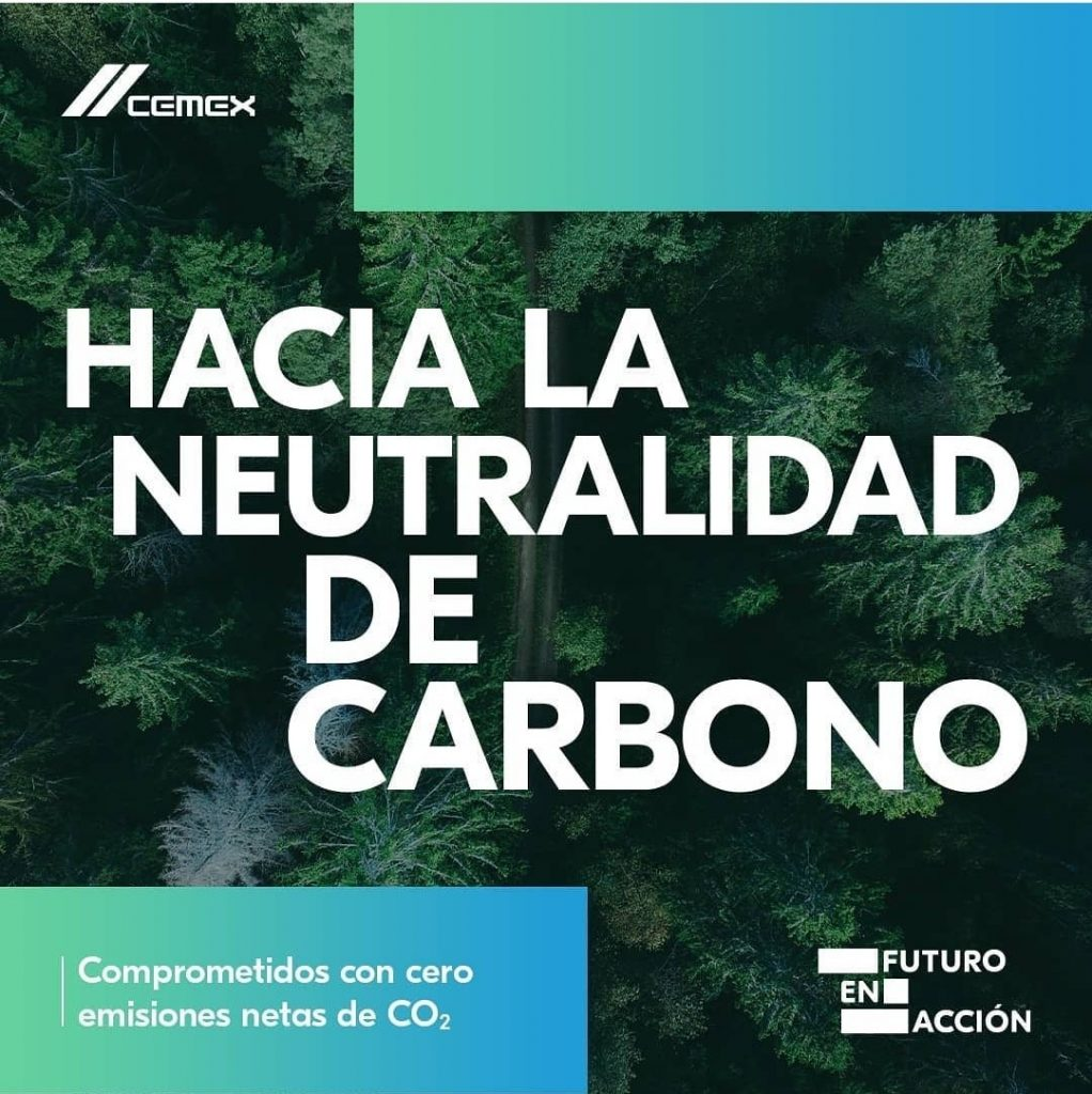 CEMEX se une a dos iniciativas líderes a nivel mundial para lograr la neutralidad de carbono