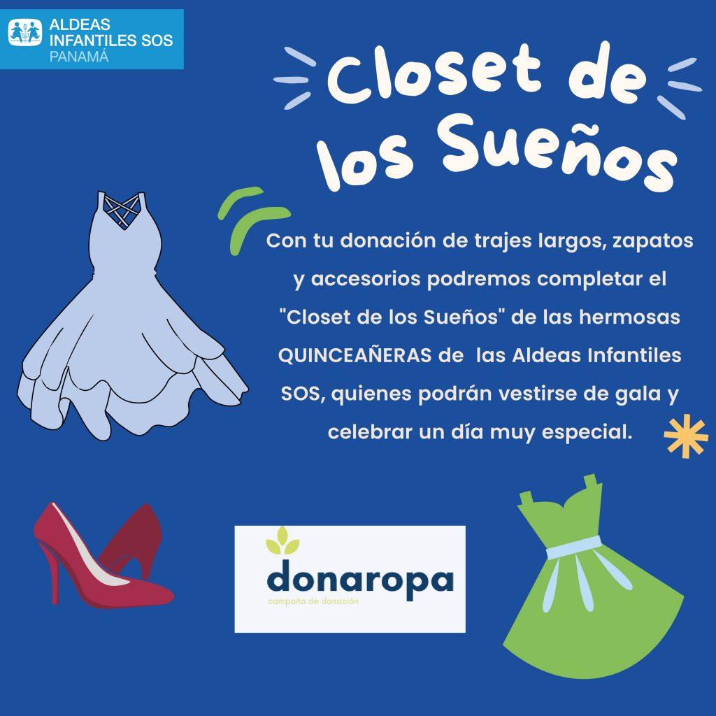 ¡Apoya el Closet de los Sueños de las #QuinceañerasSOS!
